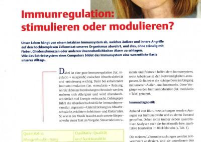 Immunregulation stimulieren oder modulieren_Seite 1